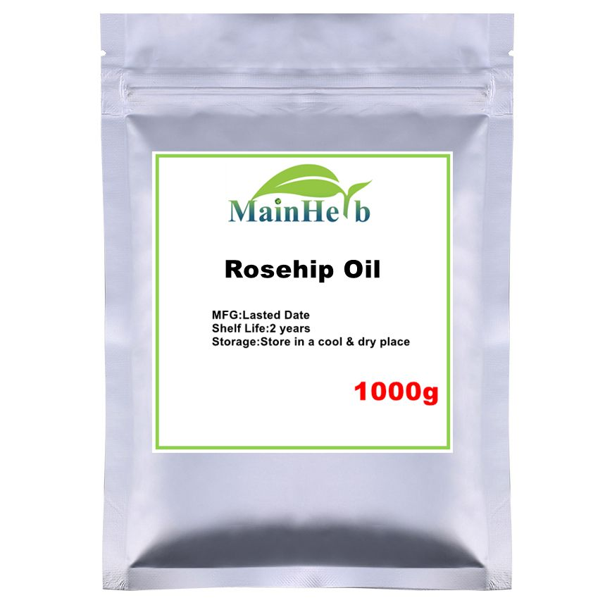 Pure Cold Pressed Rosehip Oil Organic Anti Stretch Marks Rosehip Seed Oil Body Essential Oil