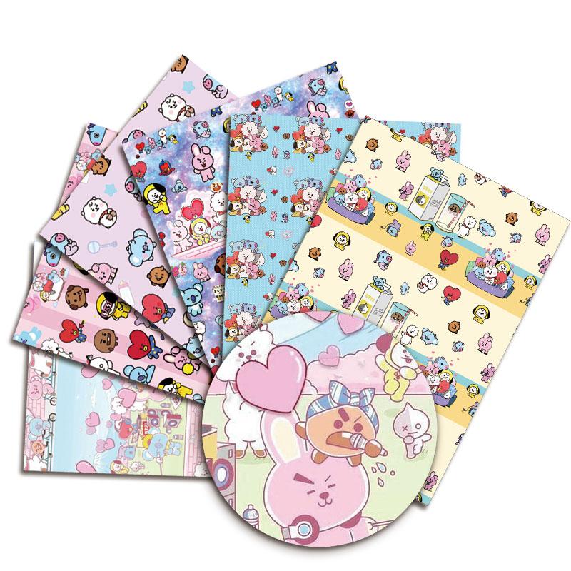 Cartoon Hot DIY handmade sewing patchwork quilting baby dress home sheet 140cm printed fabric fabric