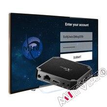 X96mini neotv MITVpro android samrt IPTV box seulement xxx smart tv box olny Streaming lecteur multimédia