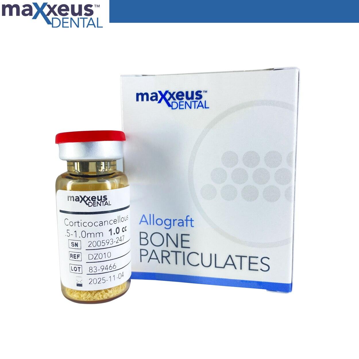 5 cc Maxxeus سبائك-جسيمات العظام-كورتيكوكانكسيل