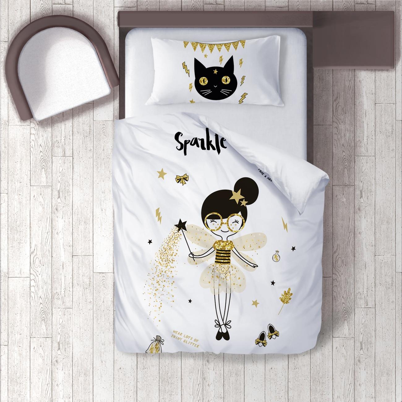Duvet Cover Set 3D Printing 100% Cotton Satin Kids Room Personalized Custom Name Custom Design Pillowcase Duvet Cover Bed Sheet