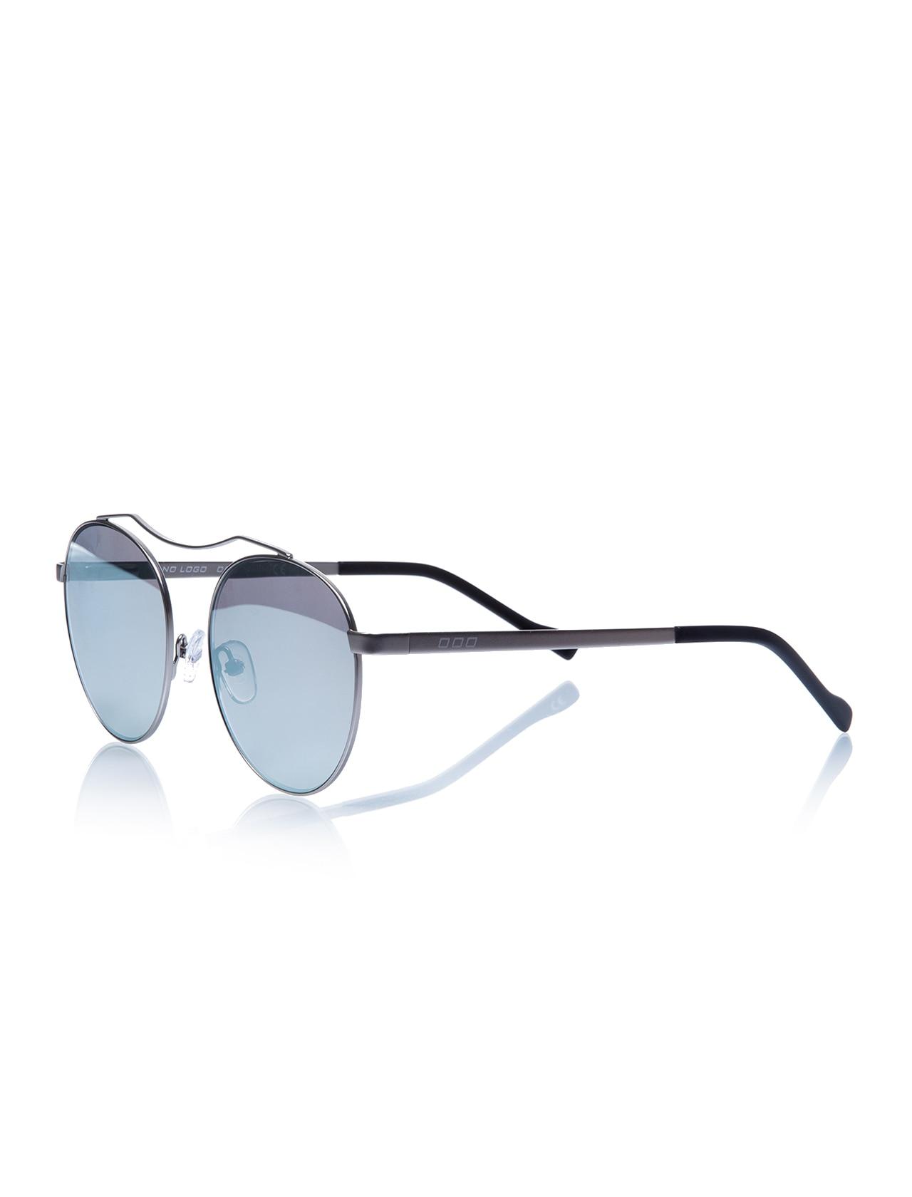 Gafas de sol Unisex nl 9869 e310 2et metal plateado orgánico redondo 51-19-135 sin logotipo