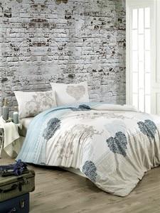 Crystal By Crown 100% Cotton Bedding Set, Home Textile Bedding Set, Bedspread, Duvet Cover Flat Sheet Pillow Case Turkey Tanem
