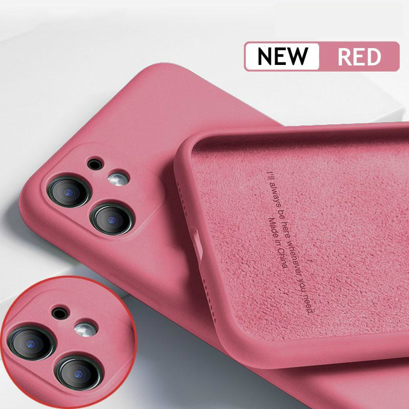 Funda de silicona Original de lujo para iPhone 11 Pro SE 2, funda suave de protección completa para iPhone X XR 11 XS Max 7 8 6 6s, funda de teléfono