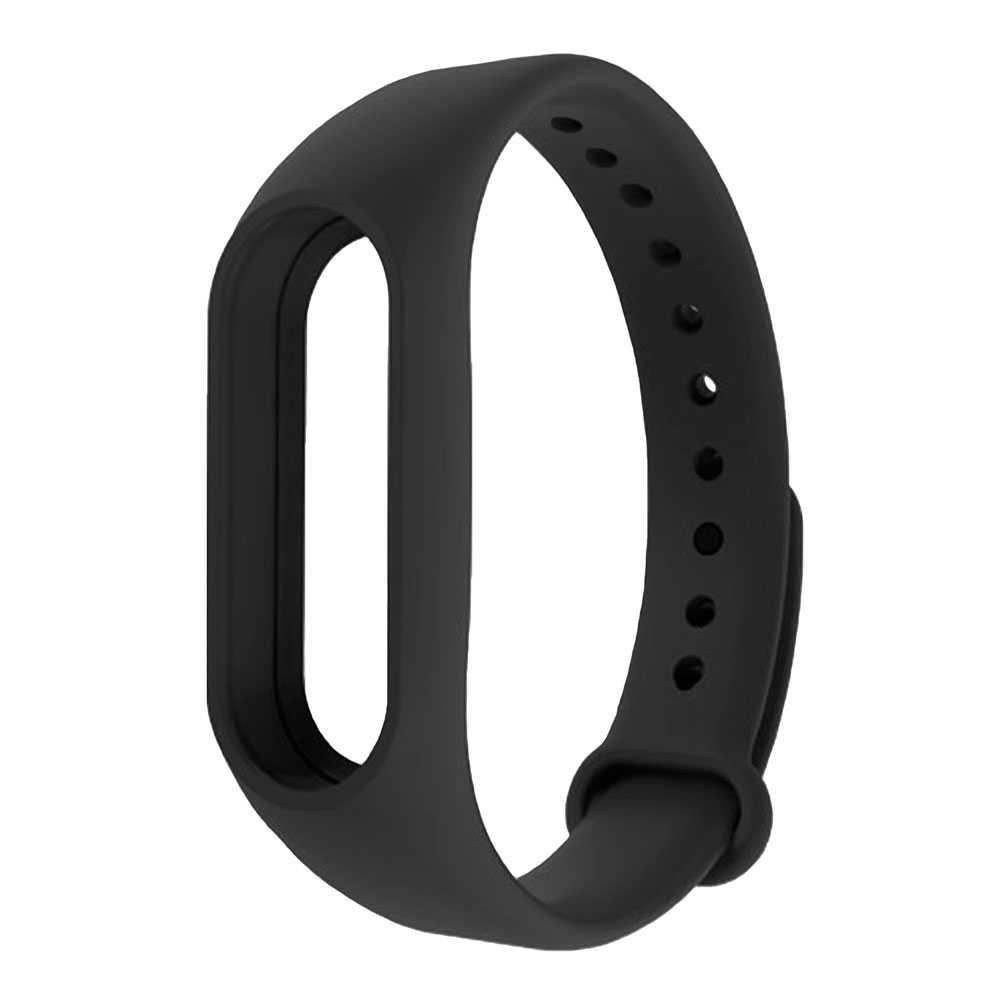 Bracelet Strap Watchband Wristband Replacement for Xiaomi Mi Band 4 / 3 Black