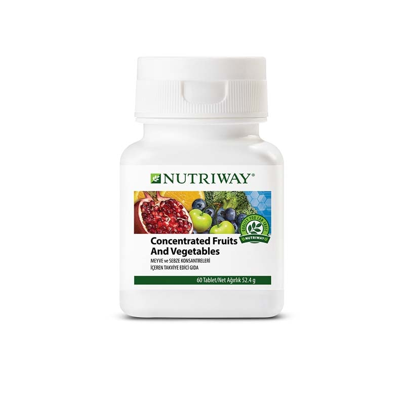 Concentrated Fruit and Vegetables NUTRIWAY™ 60 Capsules
