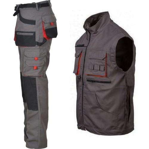 Ssm Blend Outdoor Pants And Suit Vest For Winter Construction Cold Holder High Quality 1 Set Work Cl