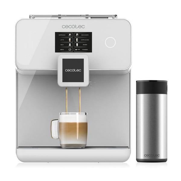 Cafetera eléctrica Cecotec poder Matic-ccino táctil de 8000-1,7 L 1500W blanco