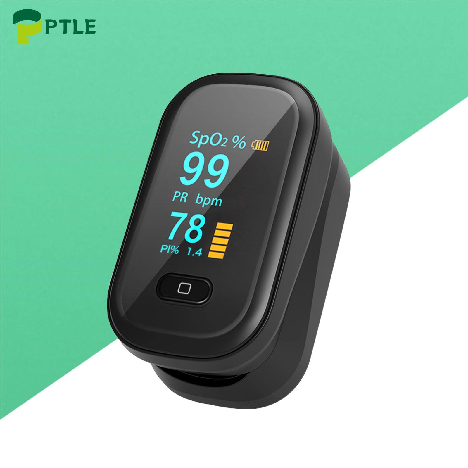 Household Portable Finger Pulse Oximeter OLED Health Monitor Spo2 Blood Oxygen Oximeter Fingertip Heart Rate Saturation Monitors