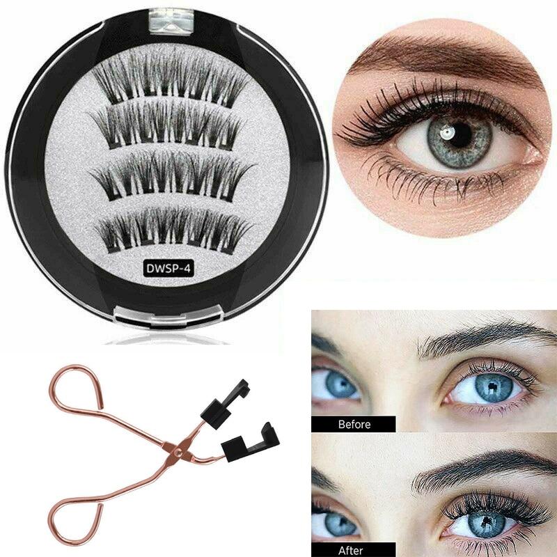 8D Quantum Magnetic Eyelashes Set False Lashes With Soft Magnet Technology Beauty Eyelashes Set Wome