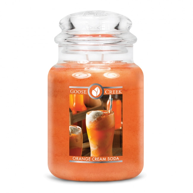 Soda de creme de laranja da vela scented/soda de creme de laranja