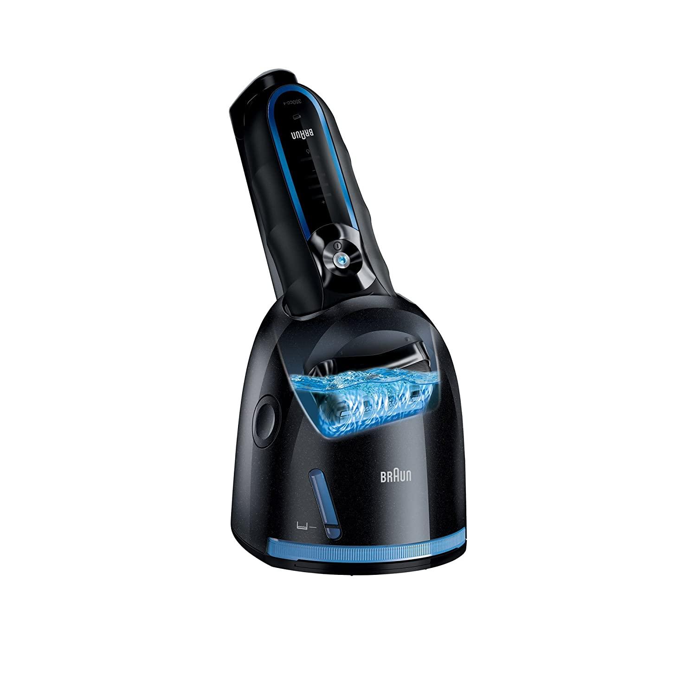 Braun 3 Series 350cc-4 Shaver, Black/Blue enlarge