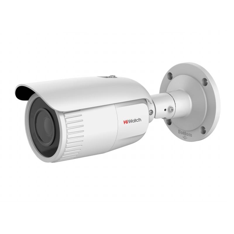 HiWatch DS-I456 уличная IP-видеокамера 4Мп 2560p, TVS, mSD, Cloud P2P, H.265+, 2.8-12мм, 0.01Лк, ИК 30м, IP67, -40+60°С, 12В/PoE