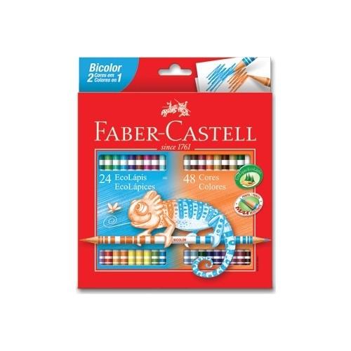 Faber-castell caneta de pintura bicolor 48 cores