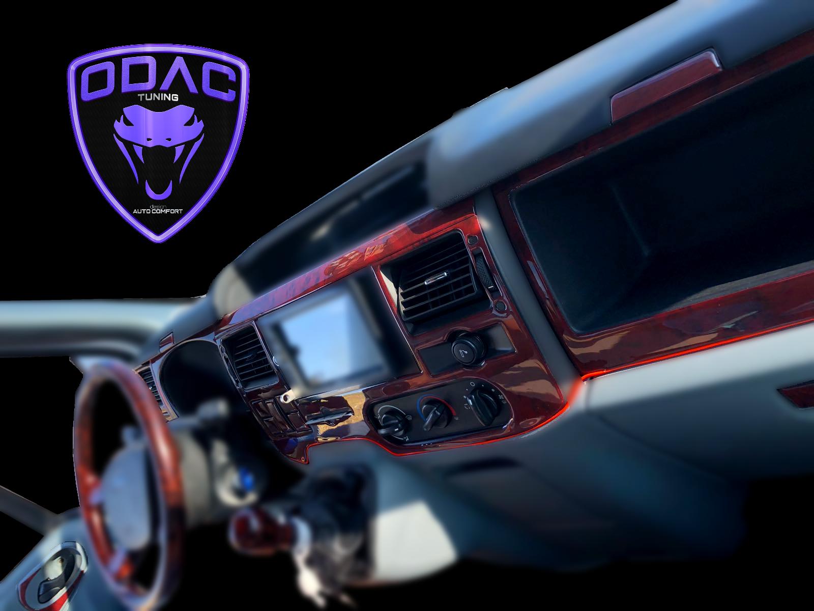 For Ford Transit 2006-2014 Dash Kit, Cockpit Decor, 5D Interior Trim Stickers, Torpedo Coating, Cover, Vehicele, Car Accessory enlarge