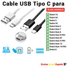 USB Type-C Cable for Xiaomi Redmi 7A 8T 9 9A 9C 9T Note PRO fast charging and mobile data 1 meter and 2 meters