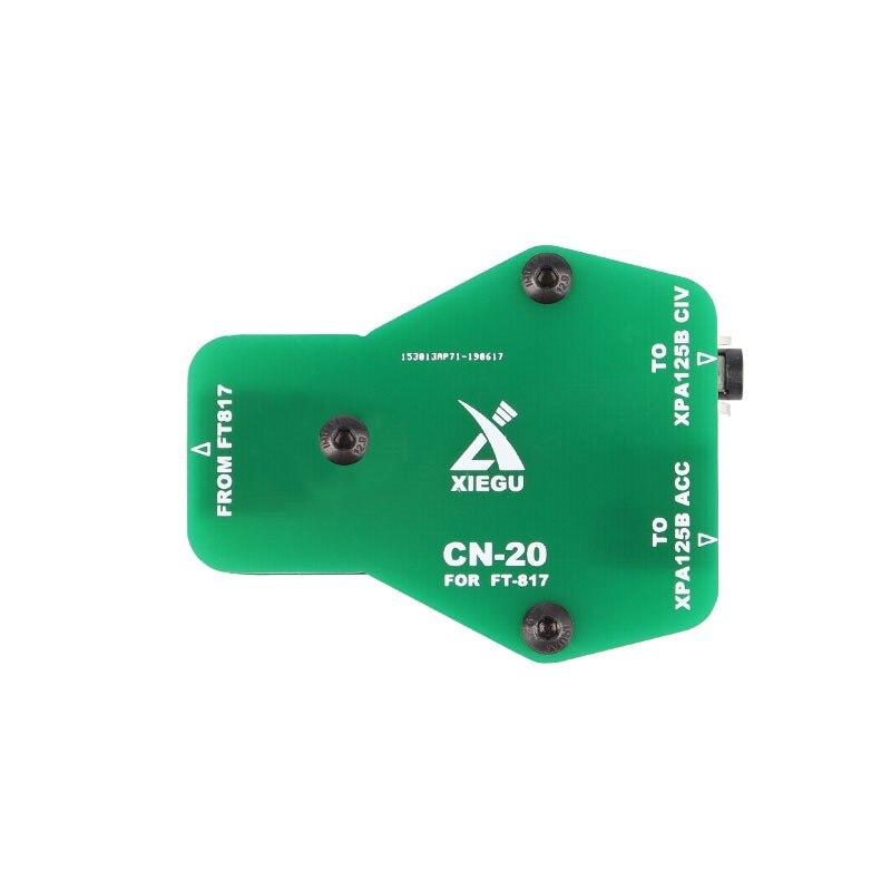 Завеса оригинальный Xiegu CN-20 CN20 ACC МПК Интерфейс адаптера для XPA125B усилитель YAESU FT-818 817 FT-818ND 817ND