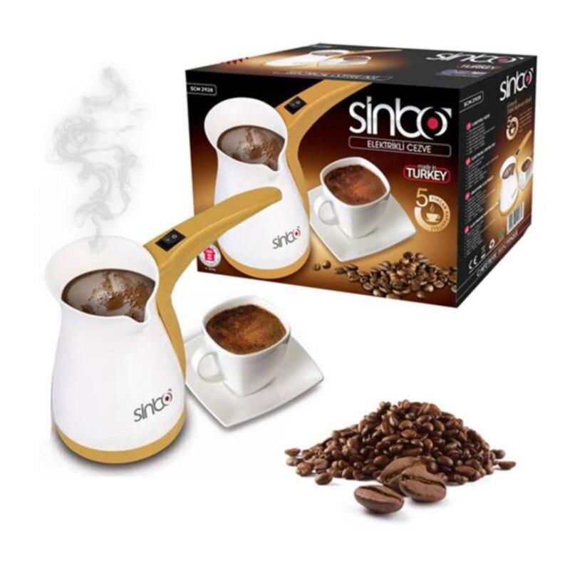 De gran tamaño-turco griego café árabe olla eléctrica Cezve fácil cafetera eléctrica-Mocha ollas expreso maquina de Moca