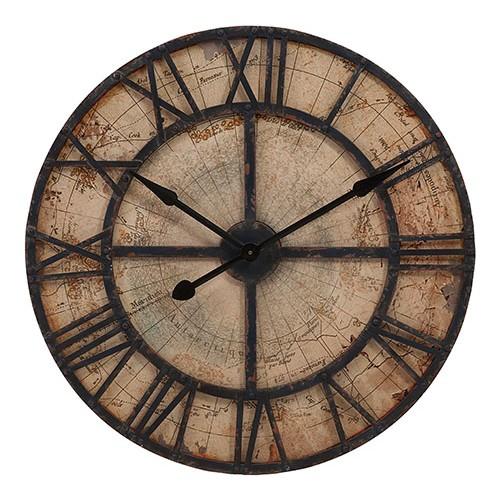 Reloj de pared redondo de madera, reloj de pared, reloj de pared colorido, reloj de pared impreso