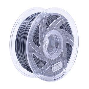 QIDI TECH High Quality Silver Color 3D Printer Filaments Plastic Rubber Consumables Material,1.75mm PLA
