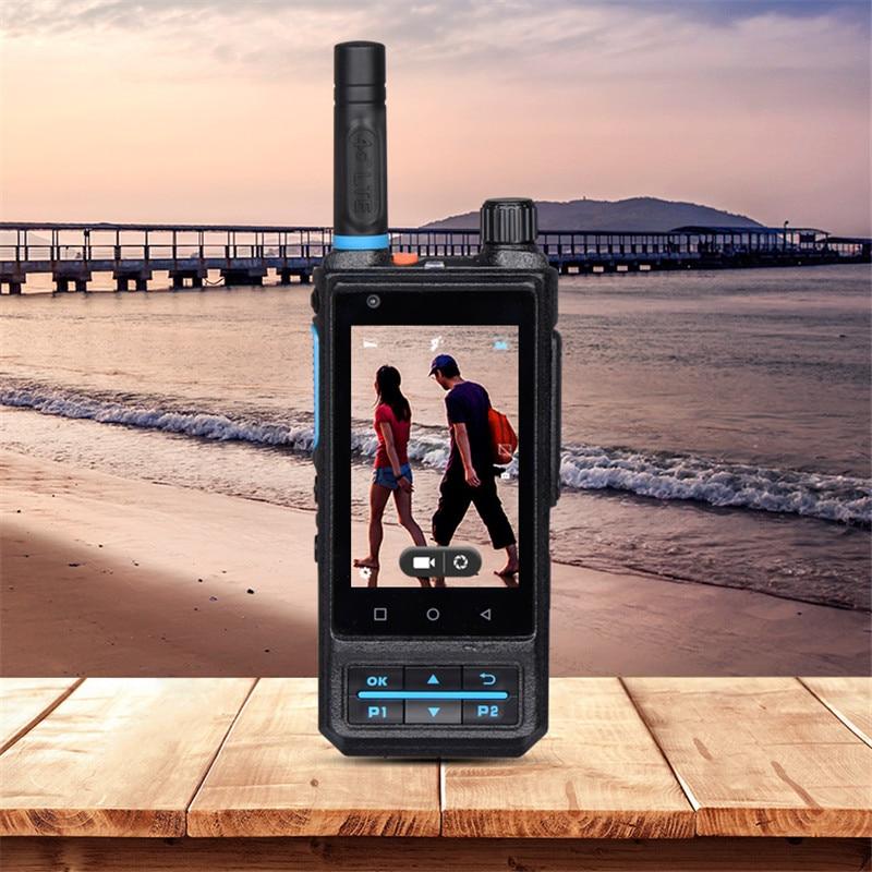Inrico S200 Cheapest network account walkie talkie GPS PTT 4G Police Security talkie walkie Solution basement subway Intercom