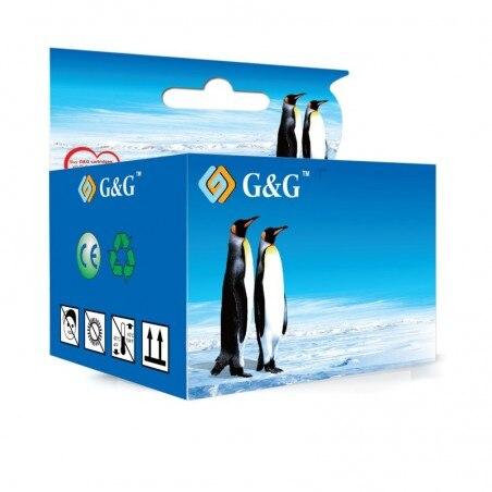 Compatible G&G HP 56 NEGRO CARTUCHO DE TINTA REMANUFACTURADO C6656GE C6656AE 20 ml