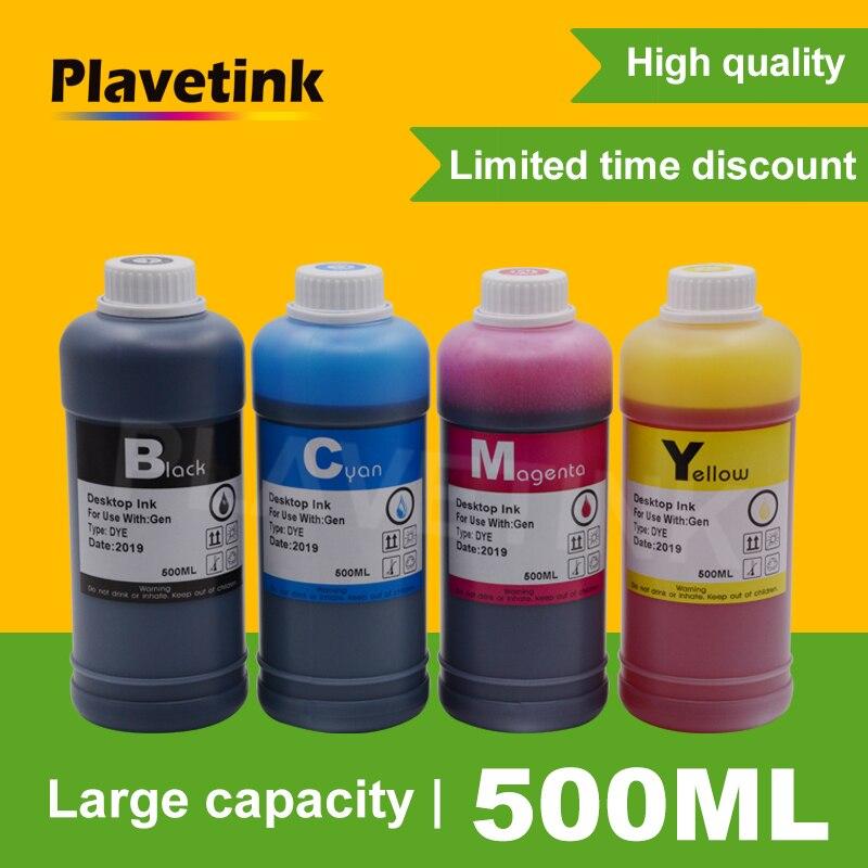 Plavetink-زجاجة حبر للطابعة ، 500 مللي ، مجموعة إعادة تعبئة الحبر المصبوغ ، لـ HP 655 XL ، Deskjet 3525 ، 5525 ، 4615 ، 4625 ، 4525