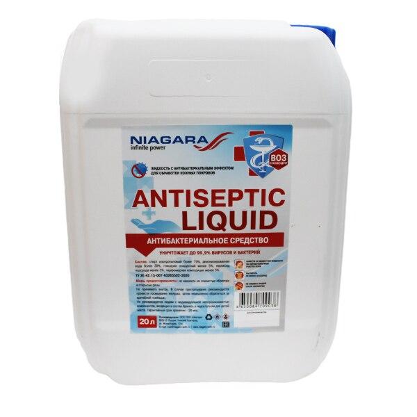 "Antiséptico Mano ""líquido antiséptico"" Niágara 20 litros"
