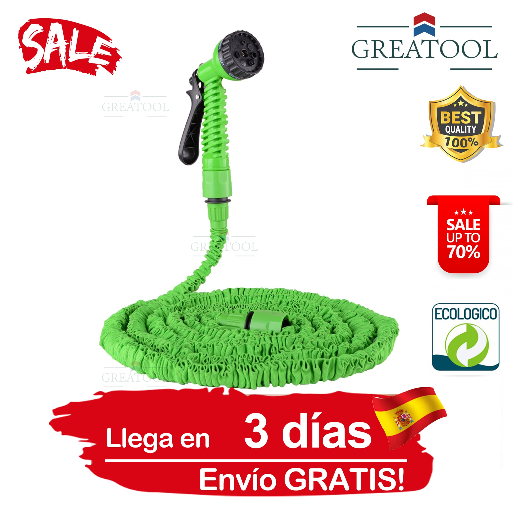 aliexpress.com - Retractable garden Mangura, expandable flexible reels, irrigation connector, pots and pots with stand, for car wash