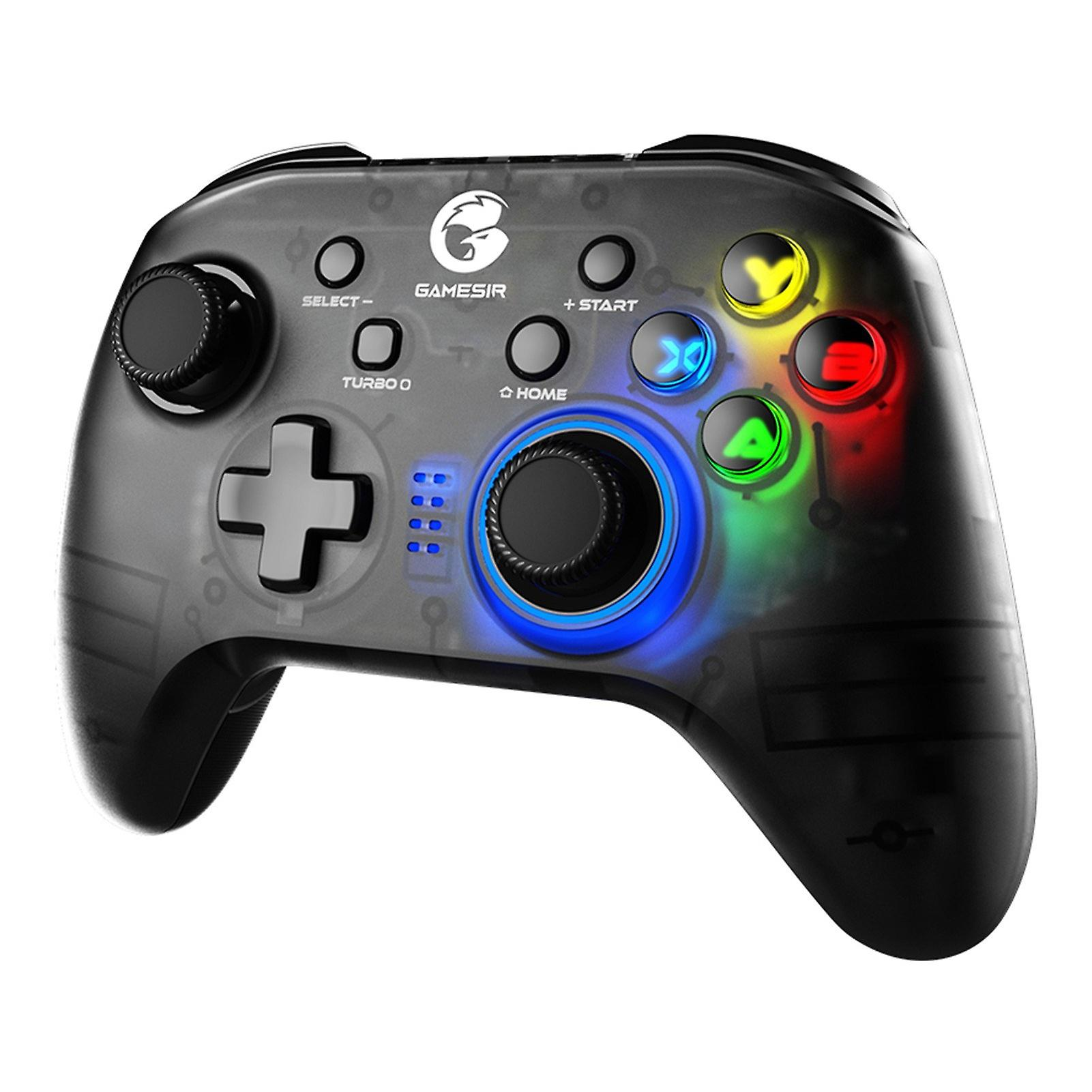 Gamesir T4 Pro Controller; Wireless game controller for Windows 7 8 10 PC/iOS/Android/Switch; Bluetooth USB