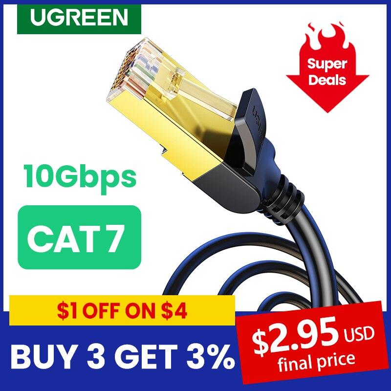 UGREEN Cable Ethernet RJ45 Cat7 Lan Cable FTP RJ 45 Cable de...