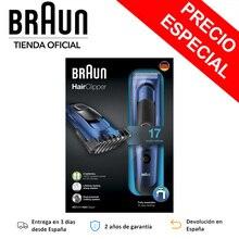 Braun HC5030-professional 클리퍼 맨 17 조정 길이 SafetyLock 시스템 기술 DualBattery sharp blades