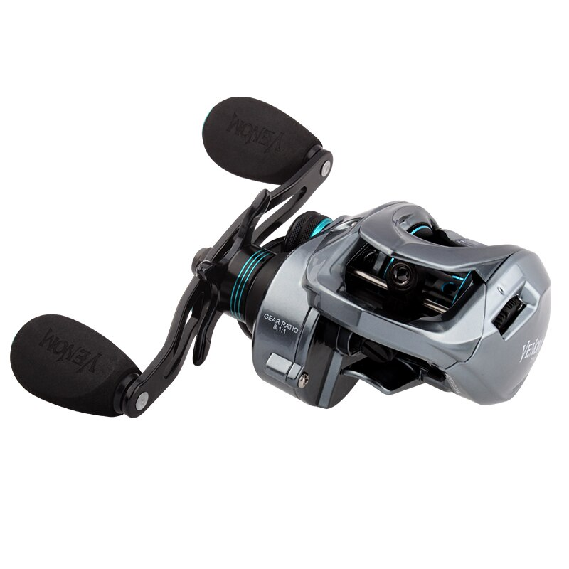 XESTA  Fishing Reel New Model Three Aluminum Spools Magnetic Brake Cork Knob Bearing 11+1 Max Drag 8KG Weight 219.5g enlarge