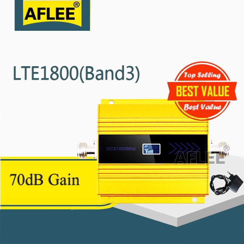 1 pièces 1800Mhz LTE GSM 4G amplificateur cellulaire DCS LTE 1800 4G réseau répéteur de Signal Mobile gsm 2g 3g 4g Booseter