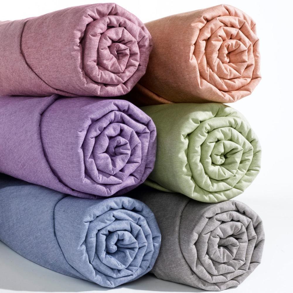 Drap housse 100% coton uni 60x120, 100x200, 120x200, 140x200, 160x200, 200x200 coton de haute qualité avec certificat oekoteks
