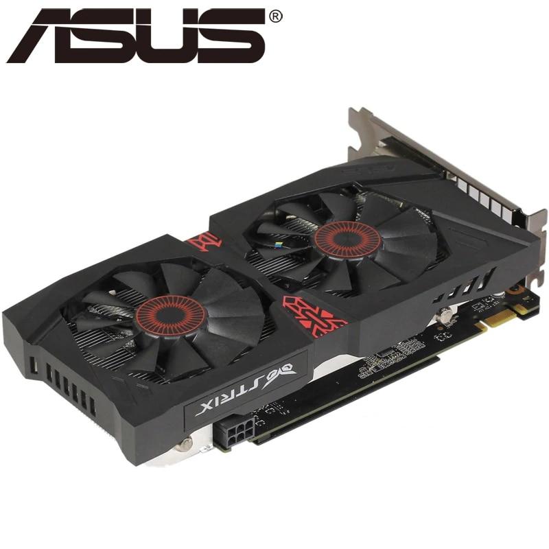 ASUS-tarjeta de vídeo Original GTX 960, 4GB, 128Bit, GDDR5, tarjetas VGA nVIDIA,...