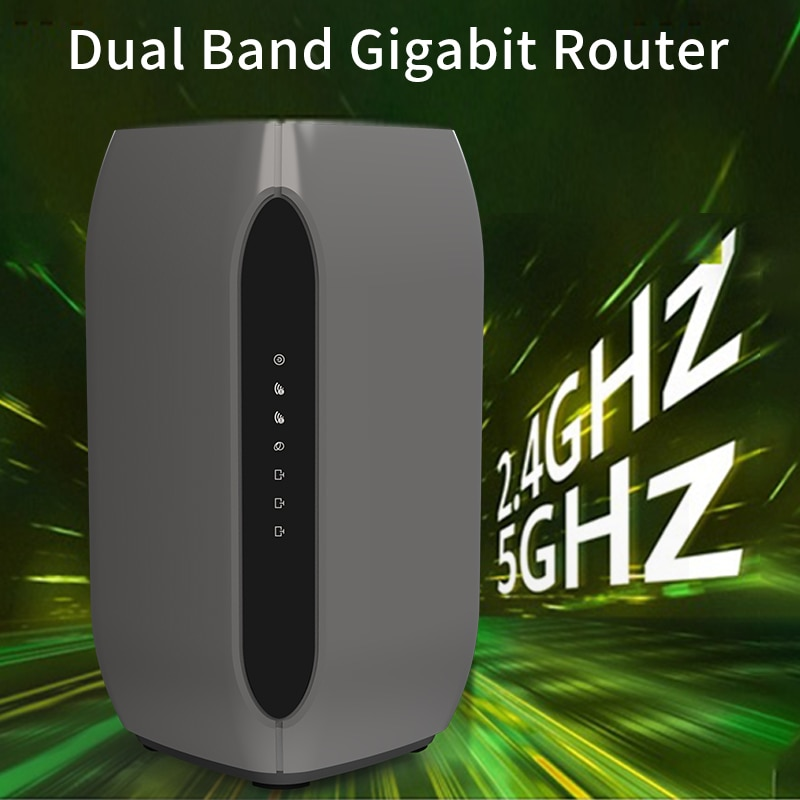 Cioswi WE5927AC-B 1200Mbps Dual Band Gigabit 11AC 4G LTE Router Wireless WIFI DDR2 64MB  Flash 8MB With SIM Card Slot 4G Moude