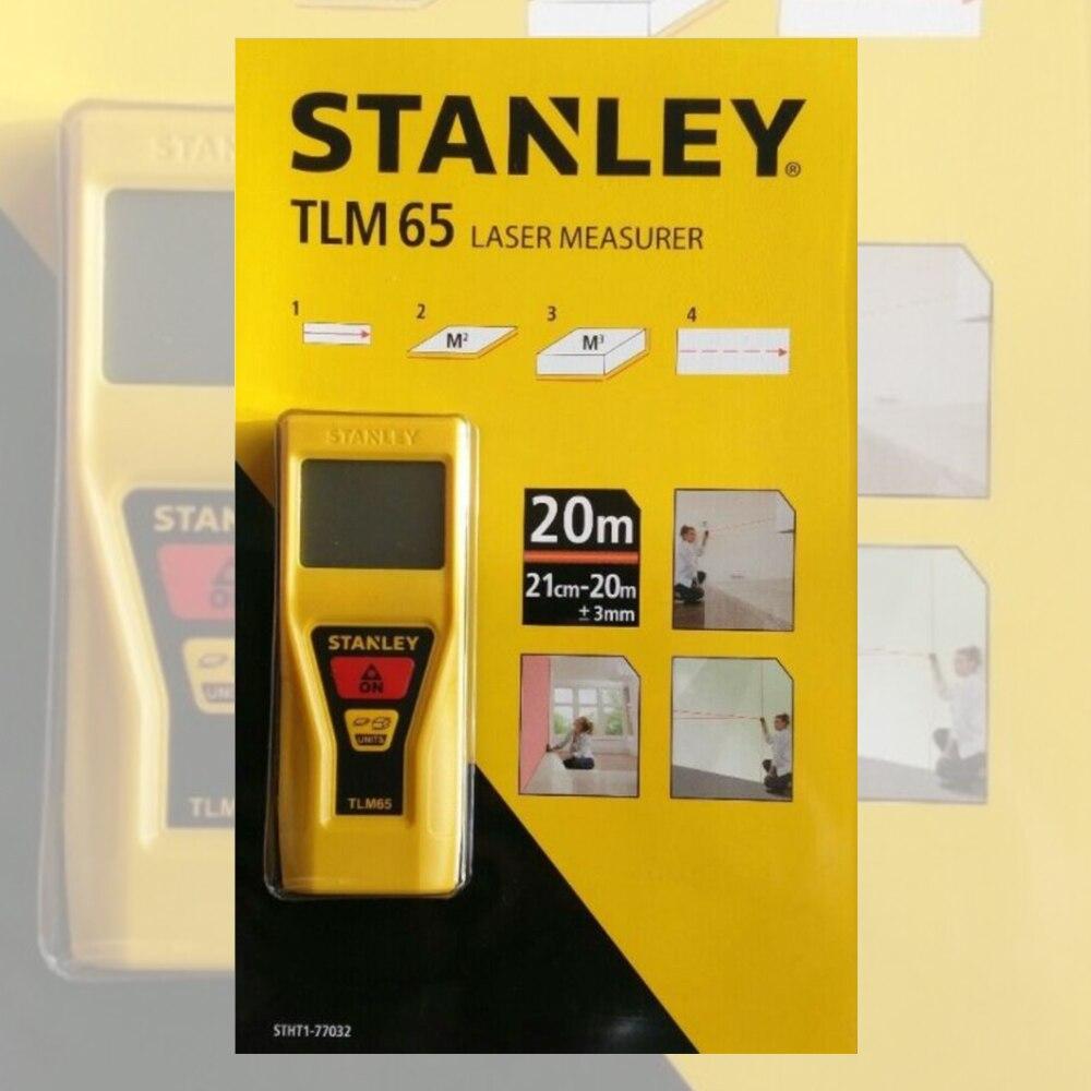 ستانلي ليزر ميتر (20 متر-TLM65) قياس ليزر 20 متر, أصفر