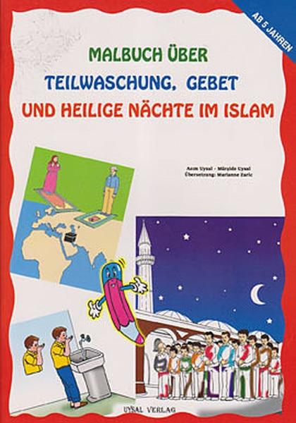 Malbuch Über Teilwaschung Gebet Und Heilige Nachte estoy islámica al aire libre dócil Mürşide domar casa editorial