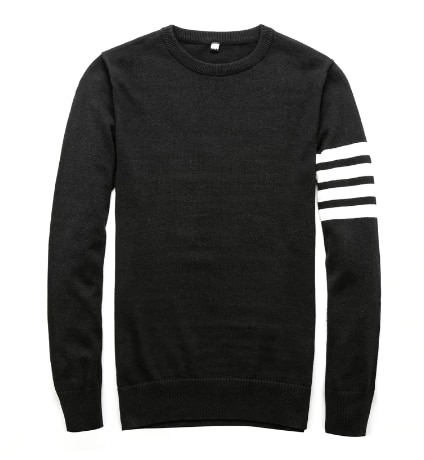 Sweaters Men New Fashion Casual O-Neck Slim Cotton Knit Quality And Pullovers Brand Clothing