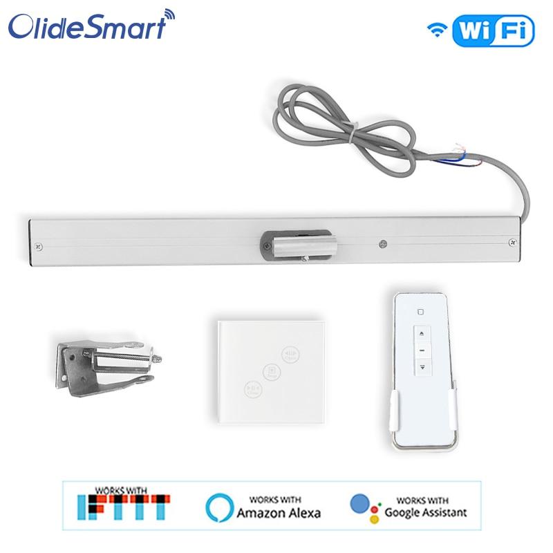Abridor de ventana de cadena Olide con interruptor Wifi, Control remoto/Aplicación de teléfono/Alexa/Google home Control