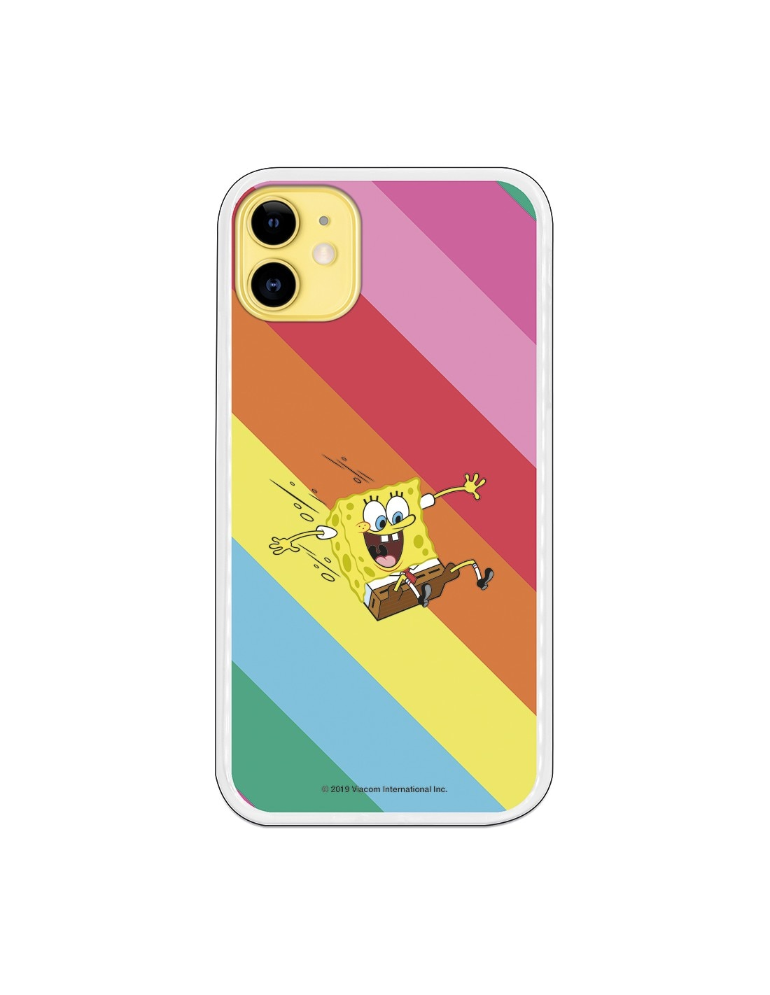 Funda para iPhone 11 Oficial de Nickelodeon Bob Tobogan - Bob Esponja