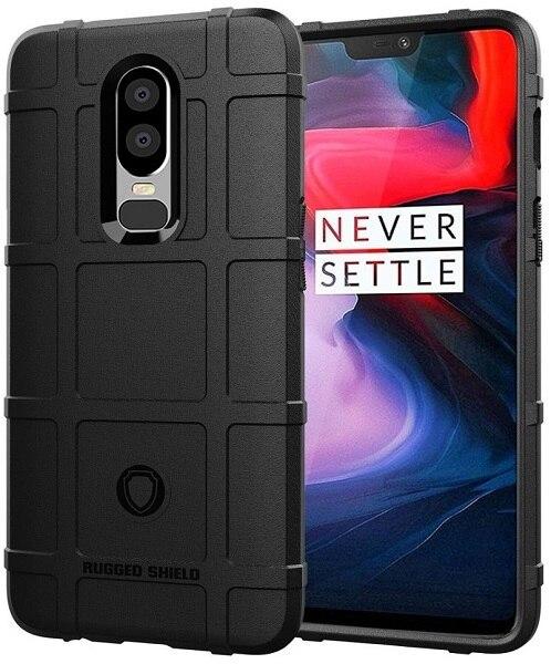 OnePlus 6 étui noir (noir), série Armor, caseport