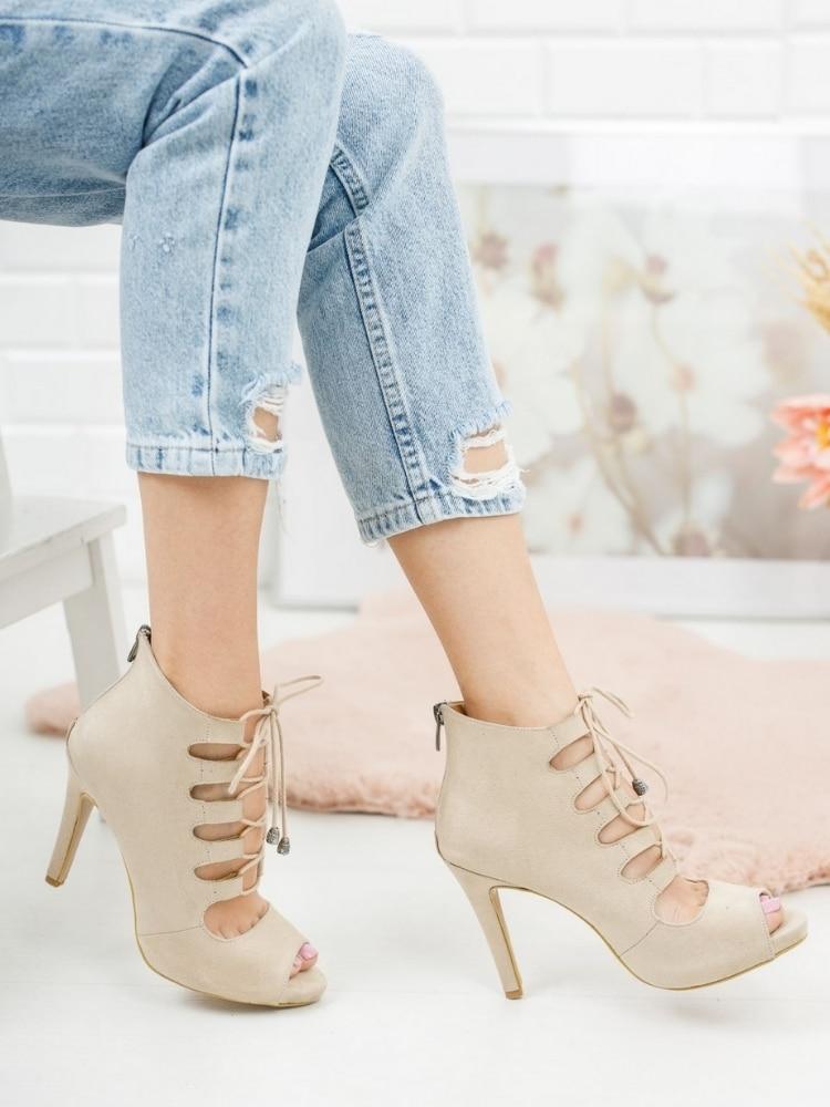 Фото - Женские замшевые туфли на шнуровке, туфли на каблуке Wonica, женские замшевые туфли на шнуровке, туфли на каблуке élysèss туфли