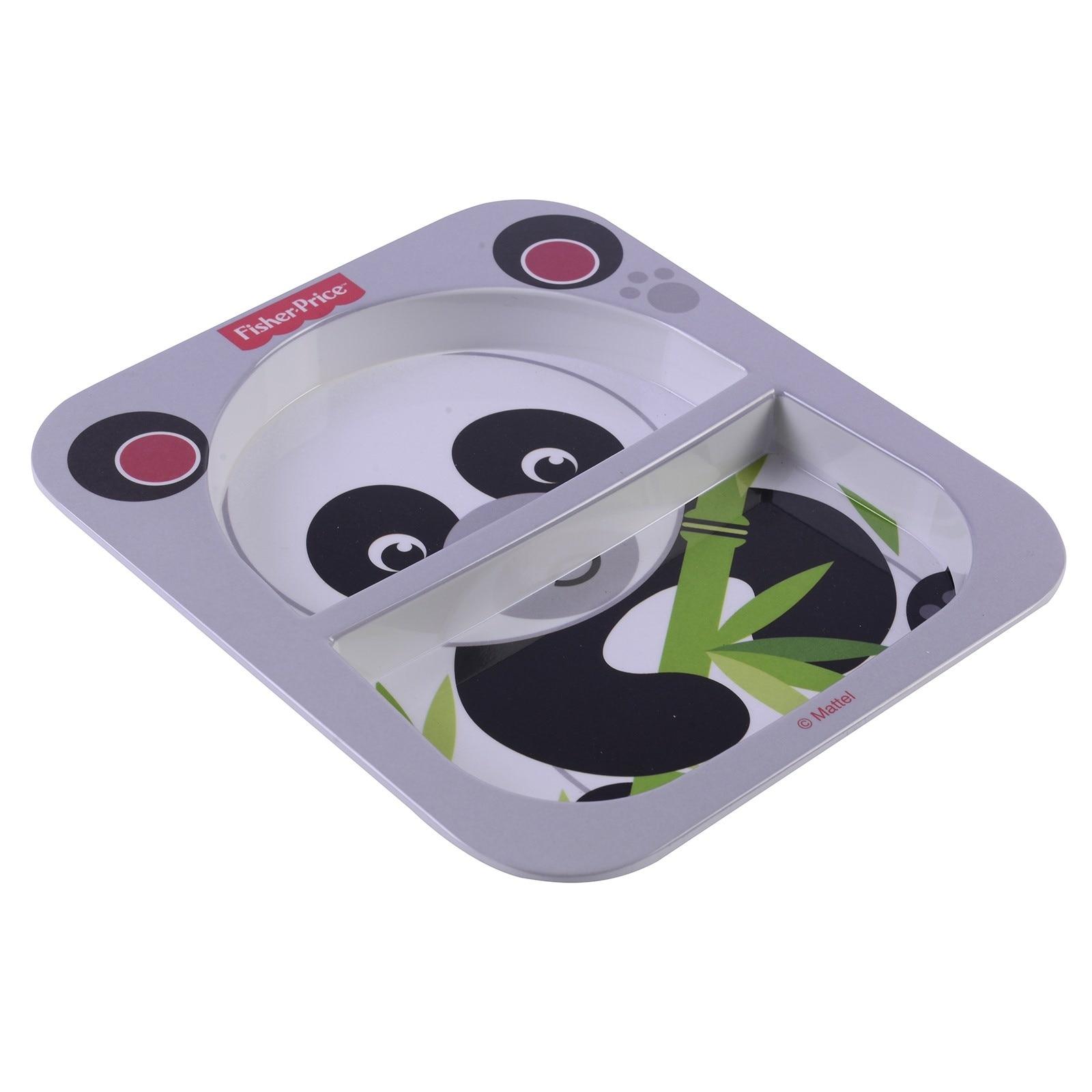 ebebek Fisher Price Panda Divided Baby Food Plate