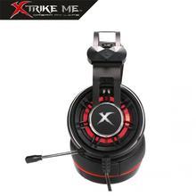 Cascos Auriculares Con Micrófono 40Mm Retroiluminad Xtrike-Me GH913 Auriculares Estéreo Gaming