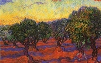 bigger is better 400x300mm magnets jm10032 painting_of_vincent_van_gogh_ _red_fields