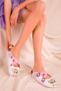 Women's Summer Fashion Sandals EVA Light-weight Slip-on Water Beach Shoes 2021 Female Cute Woman Clog valentine slippers summer