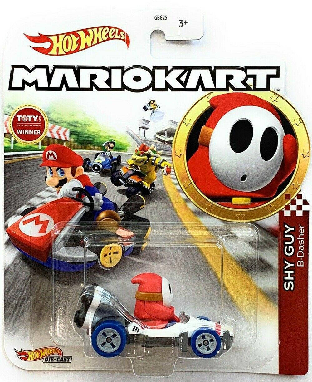 Hot Wheels Mario Kart Shy Guy Juguetería