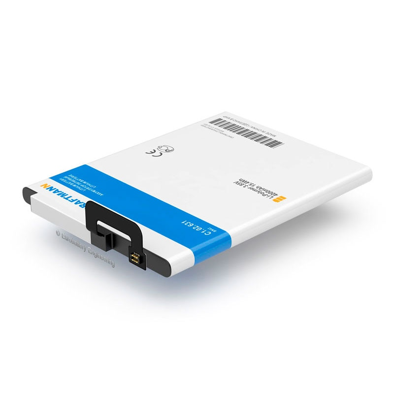 Batería de reemplazo 4000mAh XIAOMI REDMI note 4/4 (BN42)